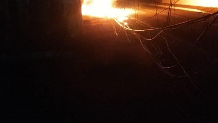 Motorista morre cabonizado após a colisão em Maricá-RJ