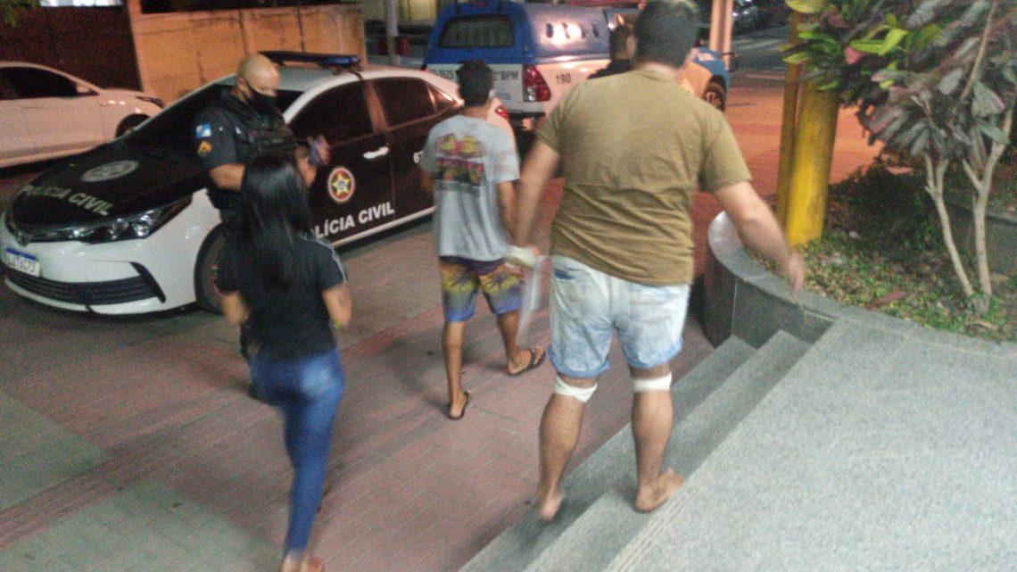 Esfaqueado por falso policial em Itaipuaçu Maricá-RJ