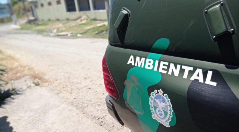 Homem é detido por despejo irregular de esgoto em Itaipuaçu Maricá-RJ