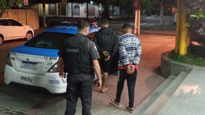 Um morto e dois presos após assalto contra motorista de aplicativo em Maricá