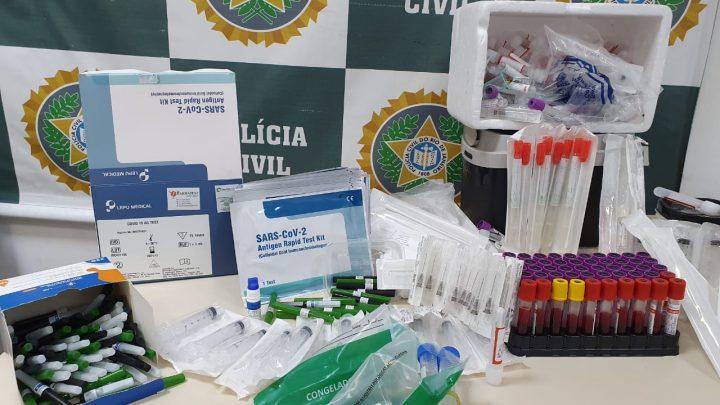 Presa após frauda exames de Covid-19 em Maricá