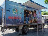 Maricá: Caminhão do peixe estará  presente nos bairros do Barroco (1) e e Ubatiba(2).