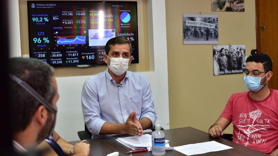 Maricá: retorna à bandeira laranja para conter avanço da pandemia