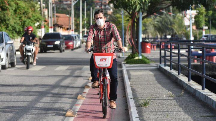 Bicicletas Vermelhinhas já estão à disposição da população