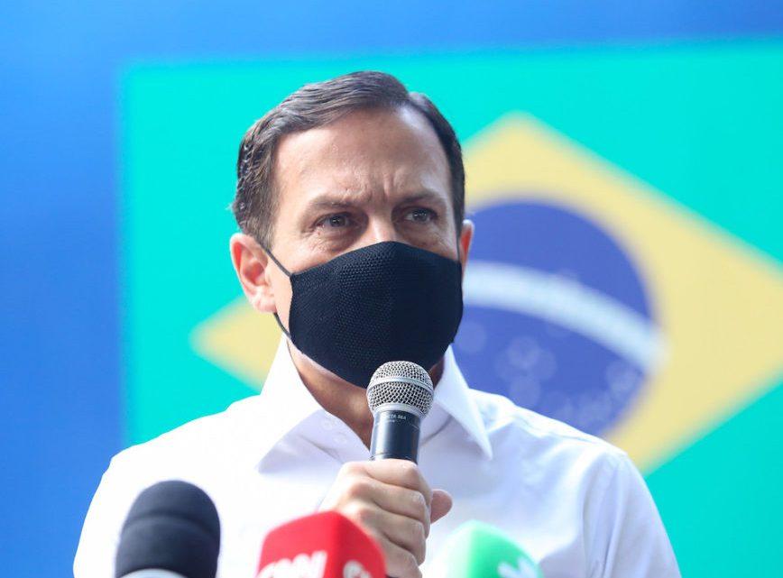 Covid-19: São Paulo anuncia vacinação de professores e policiais em abril