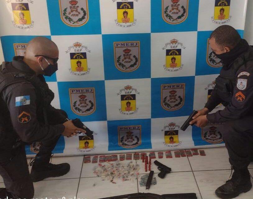 Maricá: Arma e munição são apreendidas em Pindobas