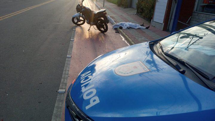 Motociclista morre em acidente de moto em Maricá