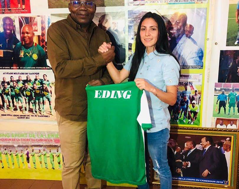 Campeonato Camarões contou pela primeira vez com uma atleta brasileira
