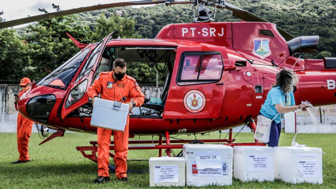 Itaboraí recebe 11ª entrega de vacina contra Covid-19