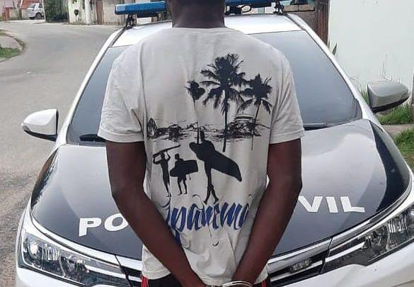 Homem é preso apontado como maior ladrão da Região dos Lagos-RJ