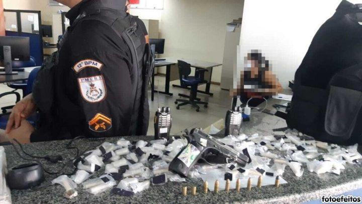 Operação conjunta das Polícias Civil e Militar termina com criminoso baleado e um preso em Maricá
