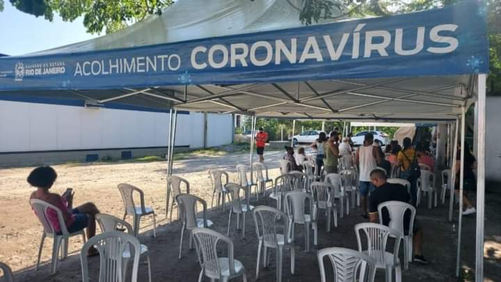 São Gonçalo: testes de Covid-19 são realizados gratuitamente todos os dias.