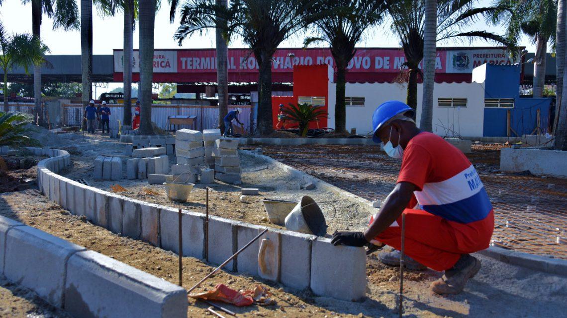 Revitalização da rodoviária do Centro deve ser concluída até julho