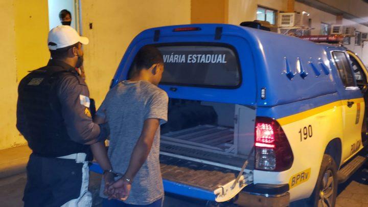 Foragido da jústiça de alta periculosidade é preso em Marica