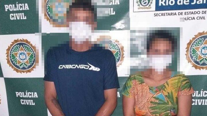 Casal é preso suspeito de quebrar costela da filha de apenas quatro meses em Saquarema