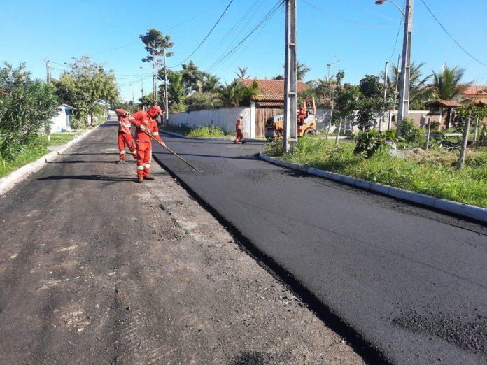 Prefeitura realiza obras em Itaipuaçu, São José e no Centro de Maricá