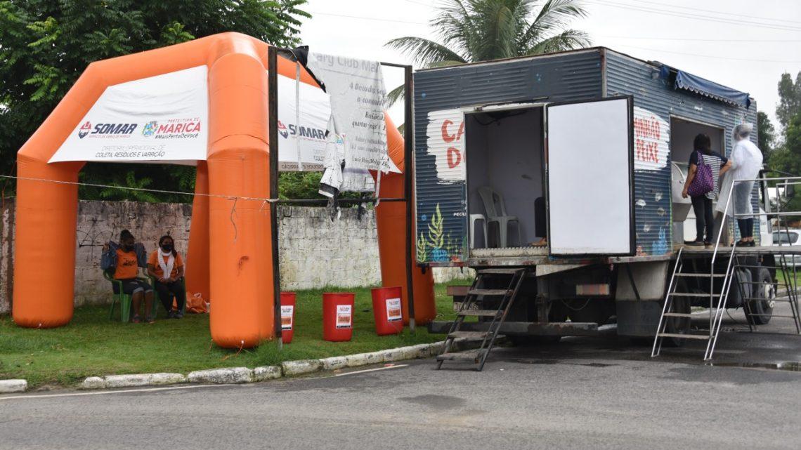 Caminhão do Peixe estará nas ruas no feriadão em Maricá