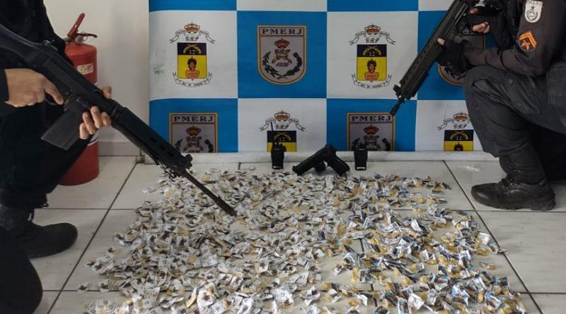 Maricá: Quase mil papelotes de cocaína apreendidos durante ação