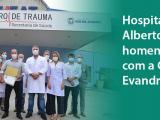 Hospital Alberto Torres recebe comenda Evando Freire