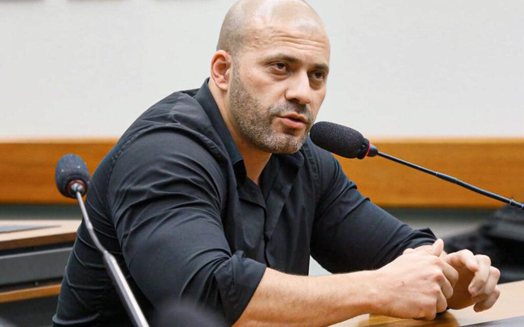 Deputado Daniel Silveira é preso por  desrespeitar o sua da tornozeleira eletrônica