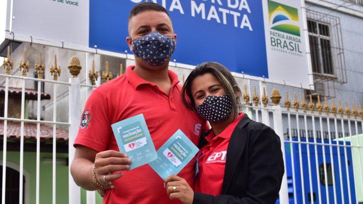Prefeitura inicia vacinação de rodoviários em Maricá
