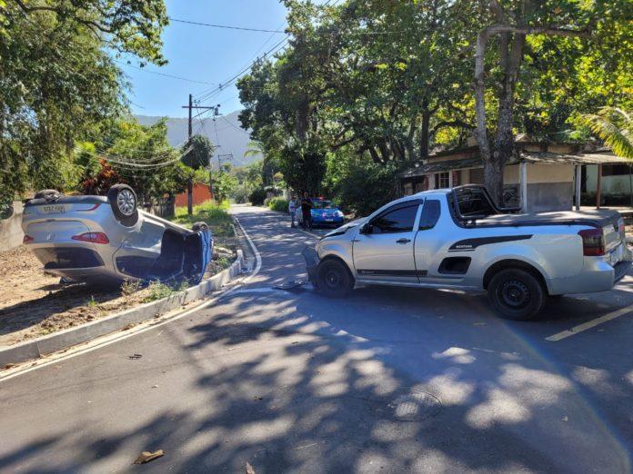Maricá: Acidente no Recanto de Itaipuaçu deixa três feridos