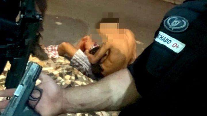 Troca de tiros Termina com um adolescente baleado em Niterói