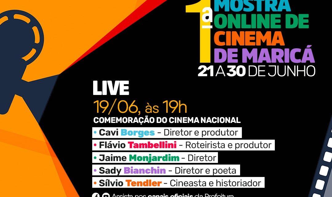 Cultura realiza Live de abertura da I Mostra Online de Cinema de Maricá
