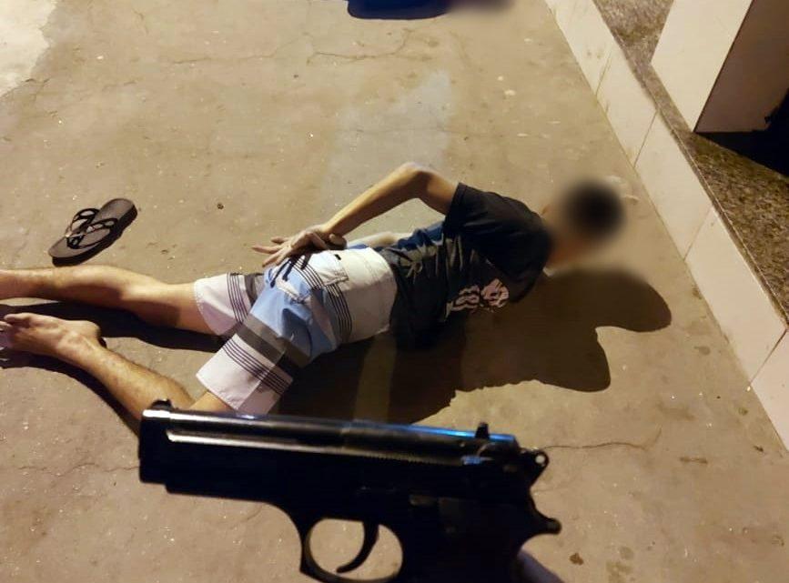 Dois homens são detido com arma falsa em  São Gonçalo
