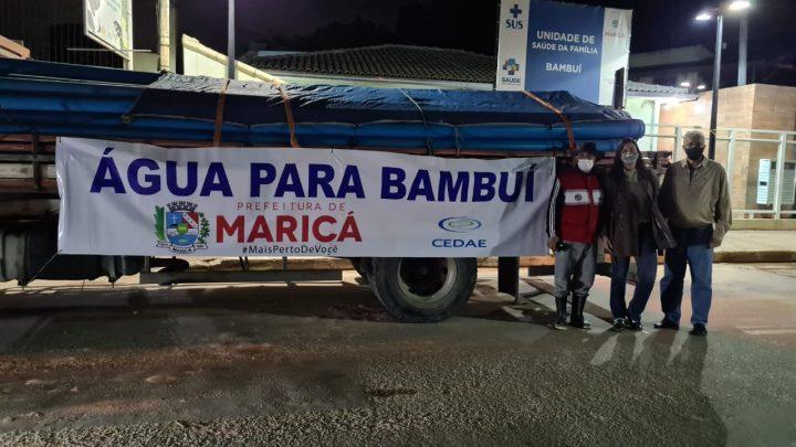 Água tratada chegará ao Centro de Bambuí nos próximos meses