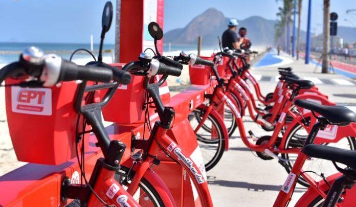 Itaipuaçu ganha mais uma estação das bikes vermelhinhas em Maricá