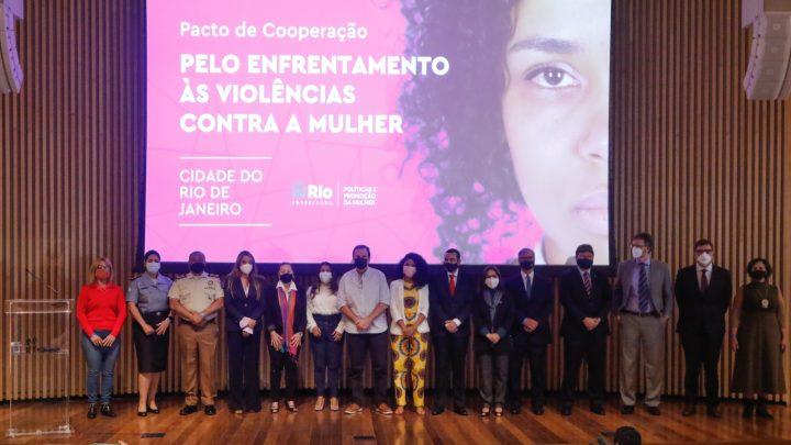 Prefeitura do Rio assina pacto para combater violência contra a mulher