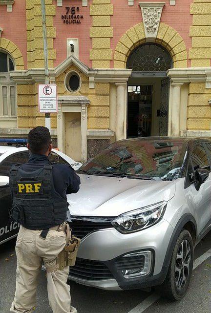 PRF prende candidato a vereador de São Gonçalo na Ponte Rio-Niterói