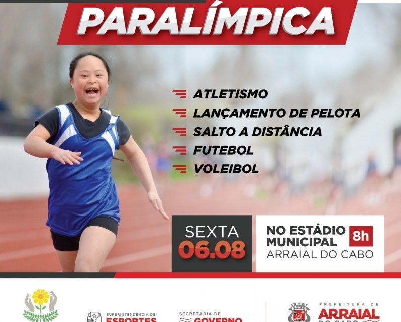 Gincana paralímpica na próxima sexta no Estádio Municipal