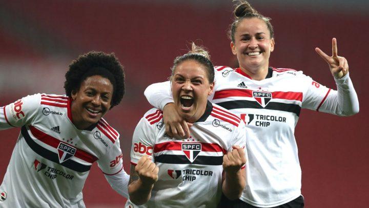 São Paulo sai na frente do Inter nas quartas do Brasileiro Feminino