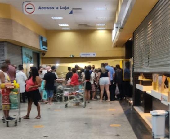 GM é morto a tiro no Supermercado Guanabara após reagir um assalto