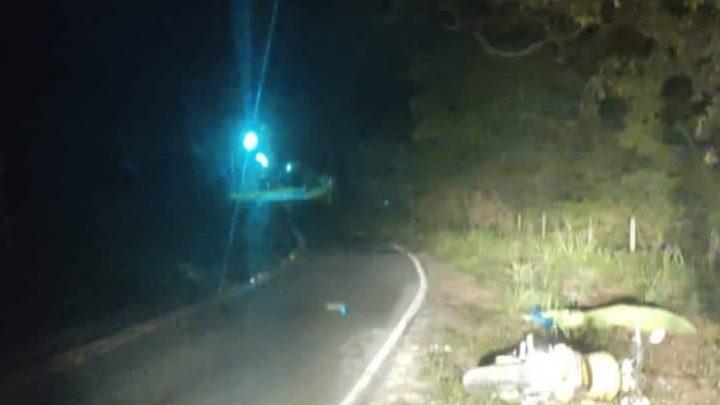 Acidente de moto deixa um morto na RJ 118 em Ponta Negra