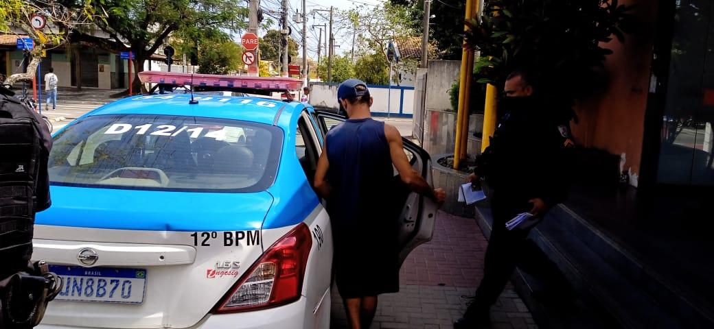 Foragido da justiça da cidade de Cascavel é preso em Maricá
