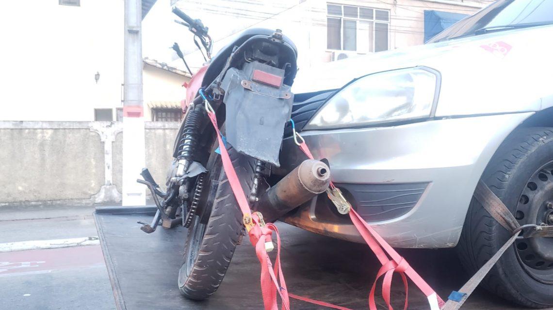 Homem é preso com moto roubada em Maricá